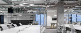 <p>Core is a Dublin based marketing communications company. At Core's open-office space and break-out hallway area, GRID is used as room dividers, storage units, tables and benches.</p> <p><em>Client</em>: Core<br /> <em>Location</em>: Dublin, Ireland<br /> <em>Architect and Interior Designer</em>: Fewer Harrington and Partners<br /> <em>Building Services Engineer</em>: Conlon Engineering Limited<br /> <em>Cost Manager / Quantity Surveyor</em>: Duke McCaffrey<br /> <em>Main Contractor</em>: T&I Fitouts Limited</p>