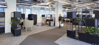 <p>Movable room dividers with planters were designed for Colt's open-plan office in Shoreditch. Customised with open and closed sections the units are well-working as separators of desk-work and break-out/meeting spaces.</p> <p>Client: Colt Technology Service Group Ltd<br /> Location: London, United Kingdom<br /> Architect: Perkins + Will<br /> Dealer: Showcase Interiors<br /> Photos:David Churchill</p>