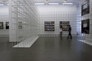 <p>Kunsthaus Hamburg was the place where artist Annette Merrild in 2006 exhibited photographies by incoorporating these into white large GRID walls. In this way the specified structure could function as both exhibition system and room divider.</p> <p><em>Client:</em> Kunsthaus Hamburg<br /> <em>Location:</em> Hamburg, Germany<br /> <em>Artist:</em> Annette Merrild</p>