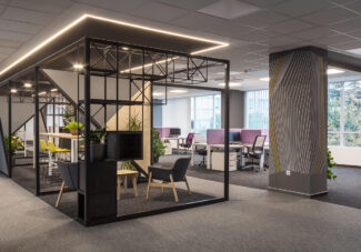 <p>Client : IDEMIA<br /> Location: Budapest, Hungary<br /> Architect: LevelUP office design<br /> Project Manager: Capstone Management<br /> Contractor: Blue Business Interior<br /> Photos: Fábián Bulyovcsity</p>